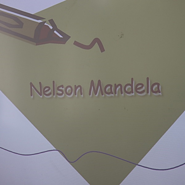Presentation on Birthday of Nelson Mandela