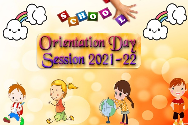 Orientation Day (Kindergarten to class IX)